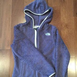 North Face Fleece Hoodie Jacket